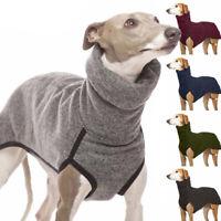 Hundepullover Pets Winter Rollkragen Pulli Windhund Whippet Greyhound Kleidung