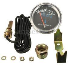 52mm Car Mechanical Water Temperature Temp Meter Metal Gauge 100~220 ℉ 12V DC