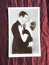 CLARK GABLE - JOAN CRAWFORD - FILM STARS -VINTAGE FILM PARNERS POSTCARD - #PC16