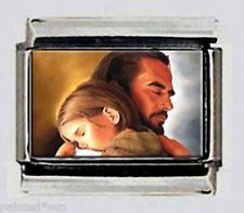 JESUS & Child Italian photo 9mm Charm for link style modular bracelets