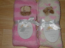 2 NEW TWO PAIRS OF FOREVER FRIENDS COSY SOCKS SIZE 4 TO 8