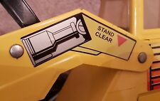 Custom Replacement Decals Stickers for Mighty Loader Tonka Truck