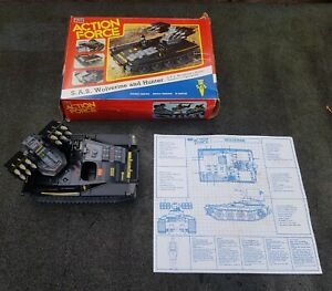 VINTAGE PALITOY ACTION FORCE SAS WOLVERINE TANK BOXED 1983 (5)