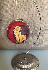 Disney Christmas Ornament Ball Lion King