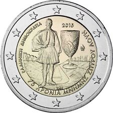 Grecia 2 euros Spyridon Louis 2015 universal moneda conmemorativa