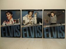 Lot Of 3 DVD's: THIS  IS ELVIS + THAT'S THE WAY IT IS + JAILHOUSE ROCK w/ sleeve