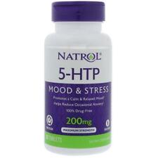 Natrol, 5-HTP, Time Release, Maximum Strength, 200 mg, 30 Tablets,Fast Dispatch
