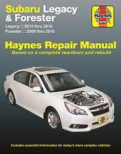 2009-2016 Subaru Legacy/Forester Haynes Repair Service Workshop Manual Book 2576