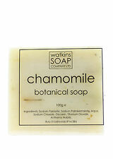 CHAMOMILE FLOWERS natural palm oil herbal soap bar