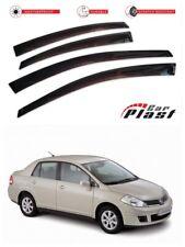For Nissan Tiida Sedan 2004-2014 Window Deflector Visor Vent Rain Wind Guard