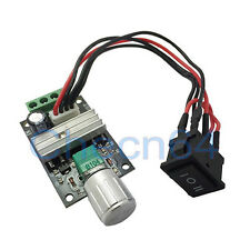 6v 12v 24v 3A  PWM DC Motor Speed Controller Switch Reverse Rotation+Switch