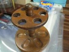 6  PIPE ROUND WOOD STAND
