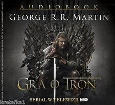 Pieśń Lodu i Ognia Tom 1 Gra o tron (audiobook CD) Martin George - POLISH POLSKI