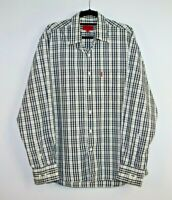 Ganton Men's Sport Long Sleeve Check Shirt Size L