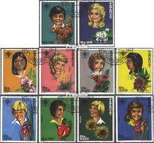 Paraguay 3373-3382 (kompl.Ausg.) gestempelt 1981 Internat. Jahr des Kindes - Blu