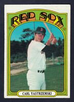 1972 Topps #37 Carl Yastrzemski / Boston Red Sox / EX-NM cond