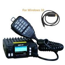 QYT KT-7900D Quad Band 144/220/350/440MHZ Car Mobile KT7900D w/ program cable