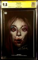 DCEASED #2 CGC SS 9.8 OLIVER VARIANT HARLEY QUINN ZOMBIE BATMAN JOKER CATWOMAN