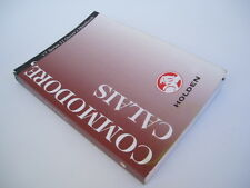 Holden Commodore Calais: Owner's Handbook VT Series