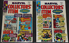 Vintage Marvel Silver Age SUPERHERO TITLES 8pc Mid Grade Comic Lot FN- to FN+