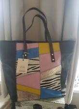 💖🌷💖🌷River island Leather Patchwork Tote Bag BNWT💖🌷💖🌷