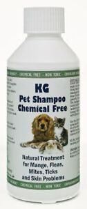 KG Wash & Go No Rinse Pet Shampoo Treats Mange, Fleas, Ticks, Mites & Itchy Skin