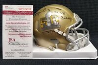 ROGER CRAIG Signed Autograph San Francisco 49ers, Super Bowl 50 Mini Helmet. JSA
