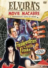 NEW DVD - Elvira Movie Macabre: Frankenstein's Castle of Freaks - 1981 CLASSIC