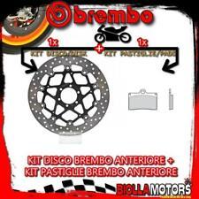 PASTIGLIE FRENO BREMBO ANTERIORI POSTERIORI CAGIVA RAPTOR 1000 2003 2004 2005