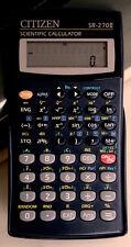Scientific Calculator Citizen Sr-270Ii