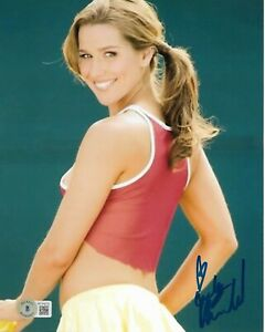 ASHLEY HARKLEROAD AUTOGRAPHED SIGNED HOT & SEXY TENNIS STAR BAS 8X10 PHOTO