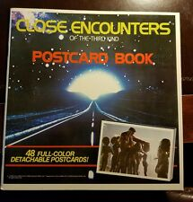 1978 Close Encounters Of The Third Kind Postcard Book - Excellent Condition