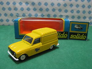 """Renault 4 Fourgonnette """" The Poste """" - 1/43 Solido gam1 42"""