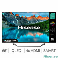 Hisense 65U7QFTUK 65 Inch QLED 4K Ultra HD Smart TV - 5 YEAR WARRANTY