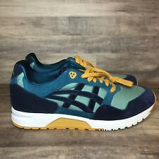 NEW Asics Tiger GELSaga Size 11 Sage/Peacoat Men's Running Shoes 1191A141.301