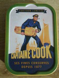 Boîte de sardines PLEINE - Capitaine Cook édition limitée