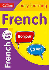 Collins Easy Learning French for children Ages 7-9 as new