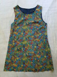 PRINCESS HIGHWAY 100% COTTON Vibrant Mixed Floral Sleeveless Dress, Size 14