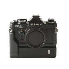 Yashica FX-D Quartz 35mm SLR Camera Body with FX Winder
