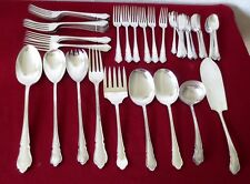45 Pieces  Vintage Mappin & Webb Mappin Silver Plate Flatware -  Marked
