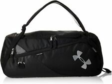 Under Armour Contain 4.0  Travel Duffle Backpack 1316569 001 BRAND NEW black