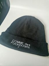 Comme Des Fuckdown BEANIE Cap GRIME HIPHOP ASAP RAP ROCKY Embroidered USED