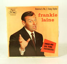 Frankie Laine Sings His All Time Favorites LP Vinyl Record Album