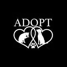 Adopt A Pet Rescue HEAT PRESS TRANSFER for T Shirt Sweatshirt Tote Fabric 999j