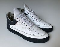 Top Filling Pieces White Leather Sneaker Mens Sz 40 UK 7 Handmade in Portugal