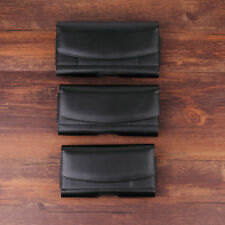 PU Leather Belt Clip Holster Pouch Phone Case Waist Bag Pack with Card Slots