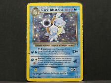 Dark Blastoise 3/82 - Legendary Collection Holo Pokemon Card (Played)