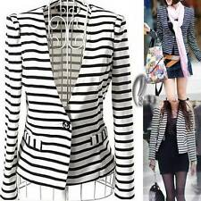 Hand-wash Only Striped Coats, Jackets & Vests for Women