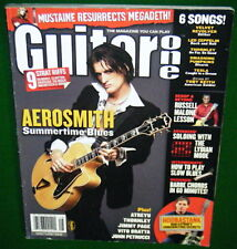 2004 GUITAR One Magazine, AEROSMITH, Roland GR-20 & Peavey Backstage Amp Reviews