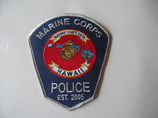 US Marine Corps Base Hawaii Police USMC